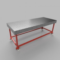Weld table 2500x1000